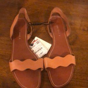 NWT Brand new Zara leather sandals